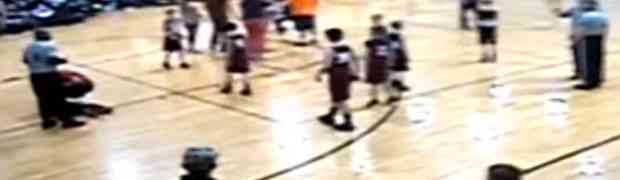 As a school Security Officer, what do you do when belligerent parents start fighting during a school basketball game?